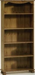 Richmond Pine Bookcase with 4 Shelves  is an deal selection for making stylish and royal furniture. This furniture provides the right size for your home Height: 166 cm, Width: 77 cm, Depth: 27 cm. More details: http://solidwoodfurniture.co/product-details-pine-furnitures-2079-richmond-pine-bookcase-with-shelves.html