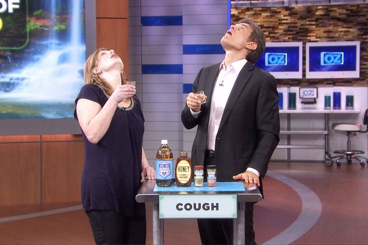 Cough & Sore Throat Remedy    Mix the following ingredients together and drink:    2 Tbsp water  1 Tbsp Cider Vinegar  1 Tbsp Honey  ¼ tsp ginger   ¼ tsp cayenne pepper    I tried it and it actually works!