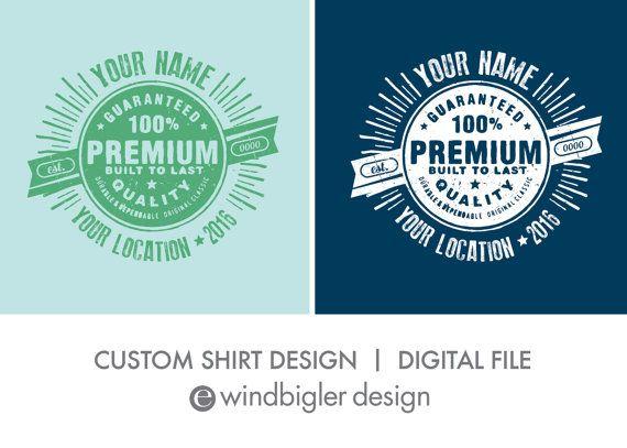 Family Reunion Shirt Custom Graphic Design by ewindbiglerdesign