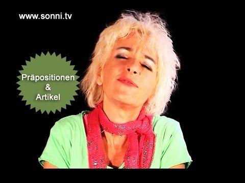 """Deutsche Grammatik: """"Präpositionen & Artikel"""" (mit Sonja Hubmann) - YouTube"""