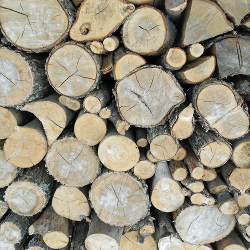 Wood for home heating