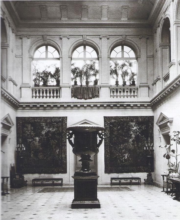 Interior of William Henry Vanderbilt Home.