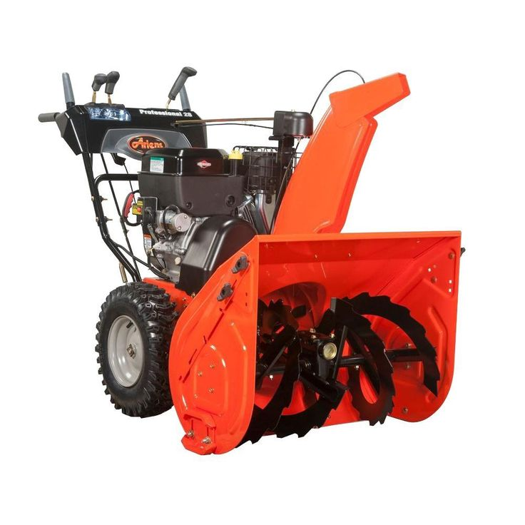 Ariens professional series 28 in twostage electric start