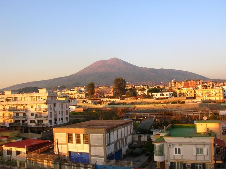 Vesuvio da Torre Annunziata, the town where my grandmother Virginia Andros was born