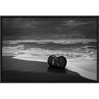 """Global Gallery 'The Human Element' by Niels Christian Wulff Framed Photographic Print Size: 16"""" H x 24"""" W x 1.5"""" D"""