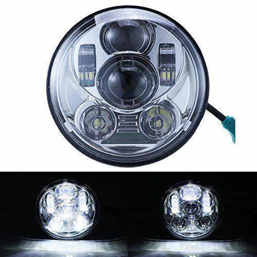 LED Projector Headlight Daymaker For Harley Land Rover Defender 2012 2013 2014