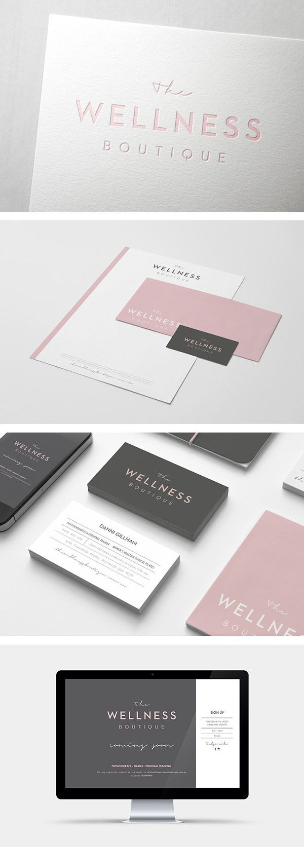The Wellness Boutique on Behance