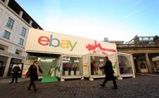 eBay's social media pop-up shop