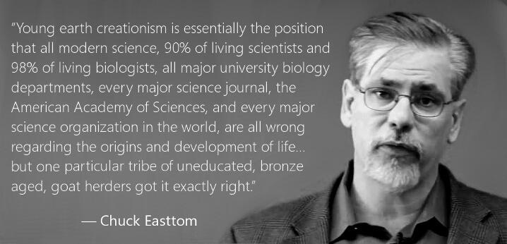 This is exactly the position held by young earth creationists. Creationists make their case worse by the fact that every accusation of fraud they direct toward the scientific community is so poorly thought out and lacking in information that it instead contributes to the ever growing number of creationist frauds. Big name creationists like Ken Ham, Kent and Eric Hovind, and others know good and well that they're preaching a scam. They are wrong. It really is just that simple.