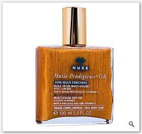 Nuxe Huile Prodigieuse Or Suchy olejek o wielu zastosowaniach z drobinkami złota 100ml