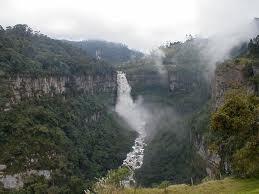 Salto del Tequendama. Cundinamarca, colombia