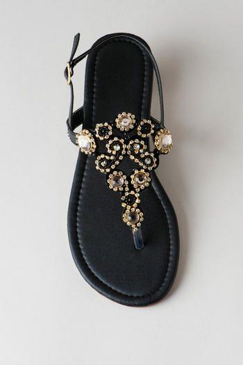 Harwood Jeweled Sandal