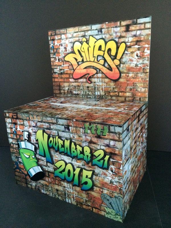 Graffiti Themed Gift Card Money Box Graffiti Around Us
