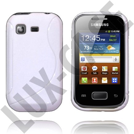 Hvid Samsung Galaxy Pocket Cover