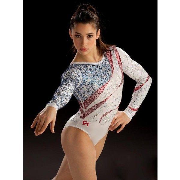 Cheap Gymnastics Leotards ❤ liked on Polyvore featuring gymnastics, leotard and sports