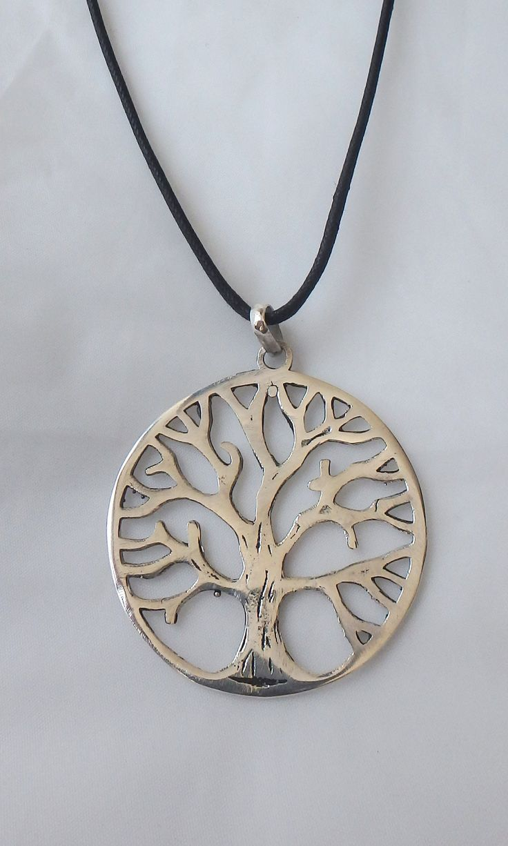 Silver XL Tree Necklace