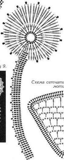 Gallery.ru / Фото #48 - Плоские букетики-аппликации - Alleta