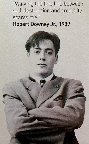 Young Robert Downey Jr