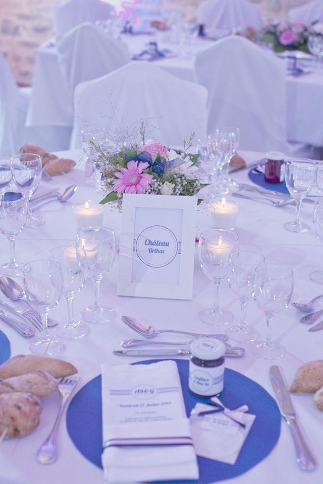 décoration de table en rose poudré et bleu - sur le blog withalovelikethat.fr