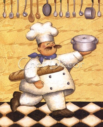 Fat Chef Art Printable Related Keywords  Suggestions - Fat Chef Art