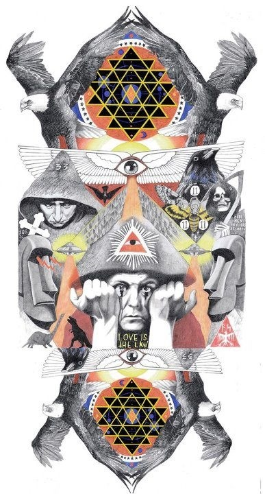 Aleister Crowley, also known as both Frater Perdurabo and The Great Beast 666, was an English occultist, mystic, ceremonial magician, poet and mountaineer, who was responsible for founding the religious philosophy of Thelema. (from Wikipedia)