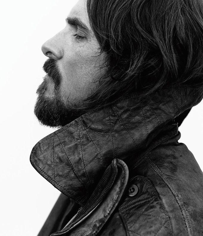 Кристиан Бэйл (Christian Bale) появился в фотосессии для The Wall Street Journal.