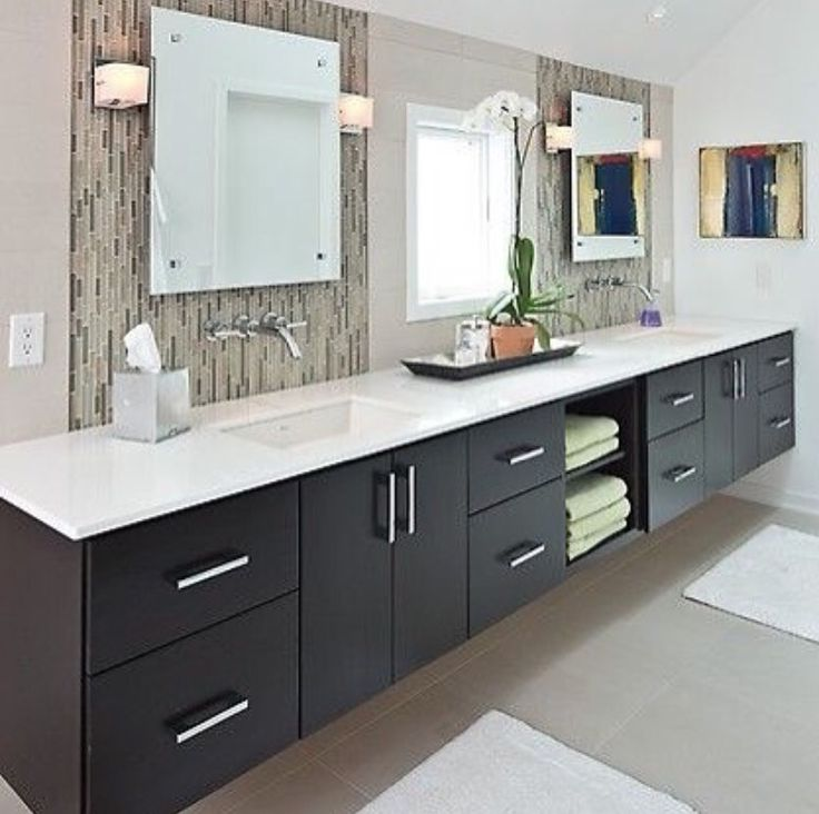 Mirror Interior Design Pinterest Towels Middle And Cabinets