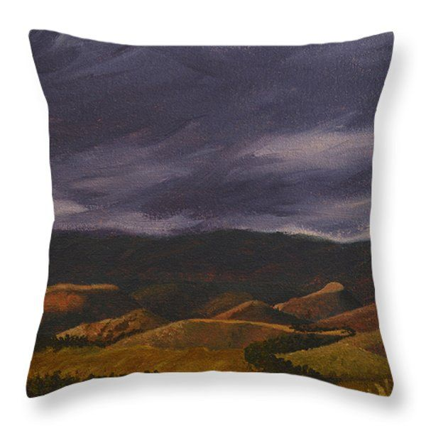 """Arty throw pillows, in different sizes, to add some 'je ne se qua' your home, from the bedrooms, dining room, lounge and study...or to spice up your office, waiting rooms and/or reception areas. Click here -> http://leana-de-villiers.artistwebsites.com/products/botlierskop-in-the-distance-leana-de-villiers-throw-pillow-14-14.html to place your order. """"Botlierskop In The Distance"""" Throw Pillow 14"""" x 14"""" http://leanadevilliers.com/"""