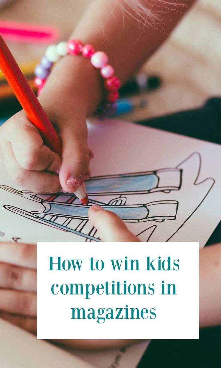 How to win kids competitions in magazines - comping advice for parents