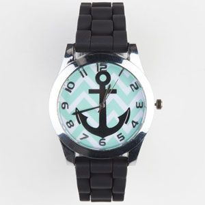 Chevron Anchor Watch....Love!