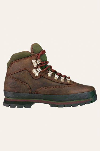10 Hiking Boots For Outdoor Newbies #refinery29  http://www.refinery29.com/best-womens-hiking-boots#slide-7   Timberland's Euro hiking boots are made with OrthoLite insoles, so those nine-hour walks will just fly by.Timberland Leather Euro Hiking Boots, $110, available at Timberland....
