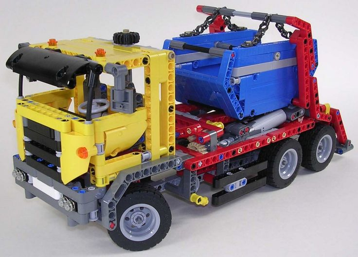 review lego technic 42024 camion multibenne. Black Bedroom Furniture Sets. Home Design Ideas
