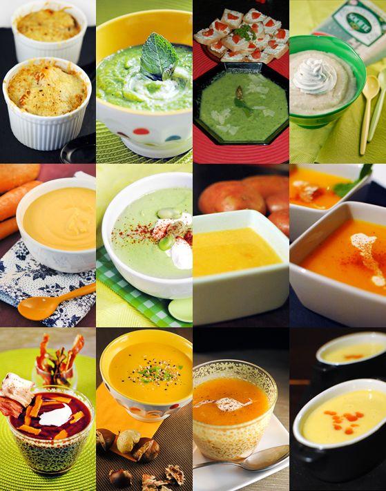 12 soupes | Stella Cuisine