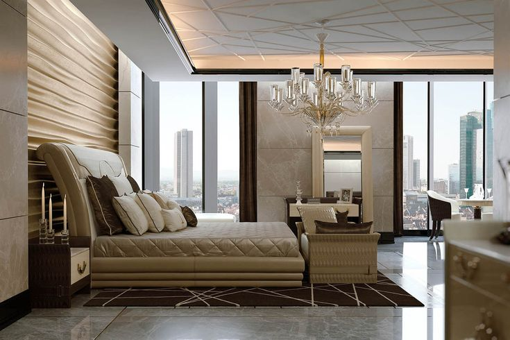 Numero Tre Bedroom www.turri.it Italian luxury masterbedroom