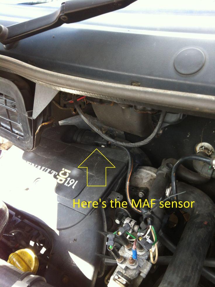 How To Clean / Change MAF Sensor On Trafic, Vivaro & Primastar Vans