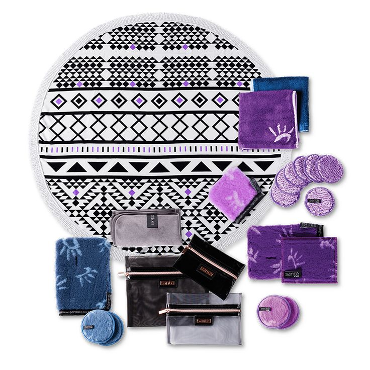 The Sante Collection - Lilac. Your natural skin care, lifestyle and beauty products covered with Santé's stylish and sustainable range.  https://sante.enjo.com.au/sante-bundles/sante-collection-lilac.html