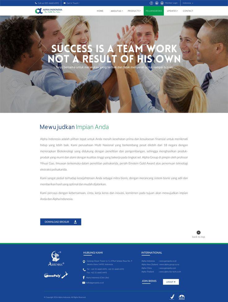Rian Design Website modern, responsive, simple, elegant
