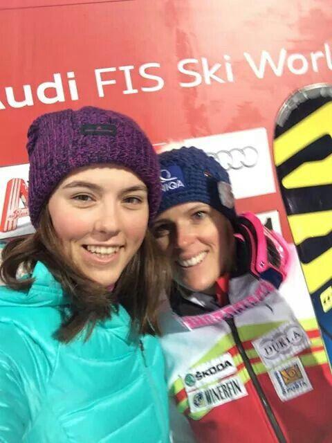 Svetový pohár v zjazdovom lyžovaní vo Flachau ( AUT ) - Slalom žien - 5. Veronika Velez Zuzulová 17. Petra.Vlhová
