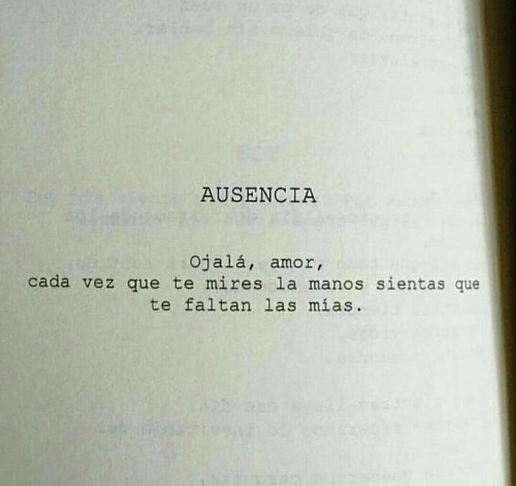 Ojalá !!! #ausencia #Ojalá #tusmanos