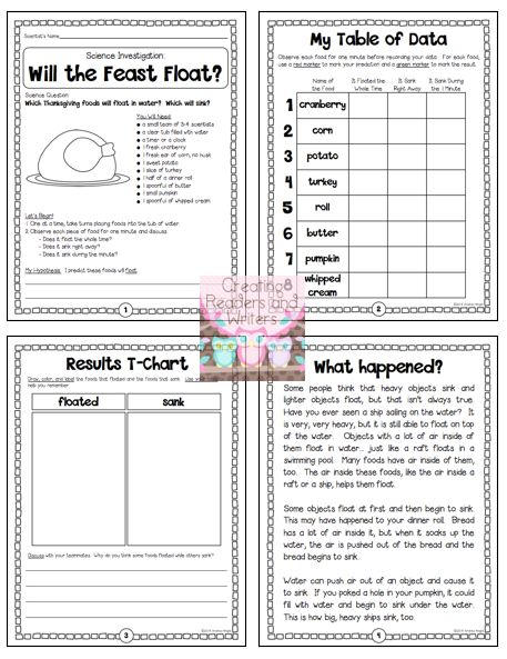 jordan flint 13 shirt  quot Will the Feast Float  quot      A sample investigation from the  quot Thanksgiving Science quot  pack     5 standards based  collaborative  hands on science activities to help you celebrate the holiday with your students   24 pages      Thanksgiving