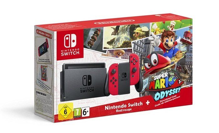 ¡Oferta Pack consola + videojuegos! Videoconsola Nintendo Switch + Super Mario Odyssey + The Legend Of Zelda: Breath Of The Wild por menos de 400 euros por el Black Friday 2017