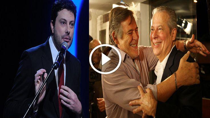 Folha Política: Gentili ridiculariza o ator José de Abreu por fazer doação para o milionário Dirceu pagar multa do mensalão; veja