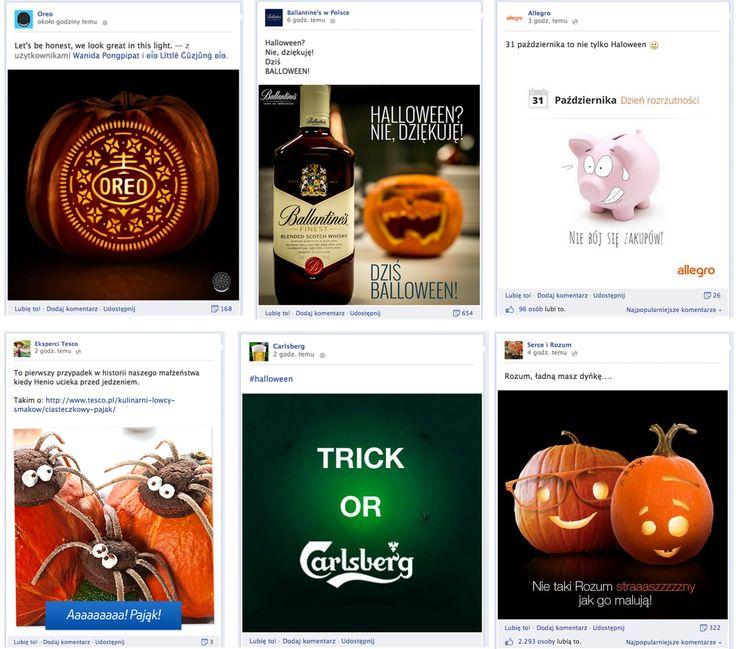 Jak marki komunikowały informacje o Halloween? Najciekawsze przykłady!