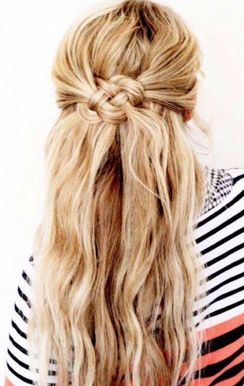 6 Easy Labor Day Hairstyles No Required Knot BraidTwisted BraidKnot PonytailSide Fishtail BraidsHalf Up Half Down