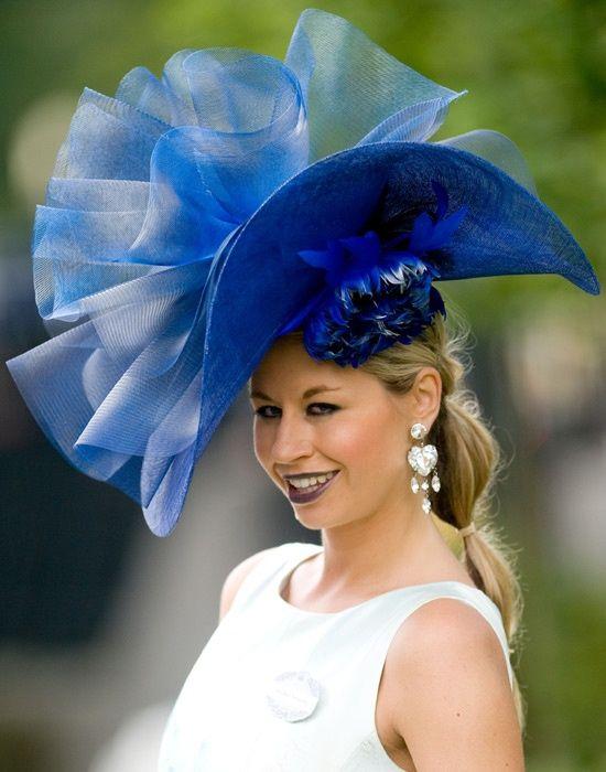 ascot hats | Ascot hat in Blue | Chapeaux