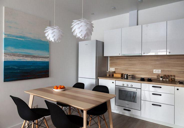 Két 40m2-es lakás egyszerű de ízléses ötletes berendezéssel - visszafogott kellemes természetes színek