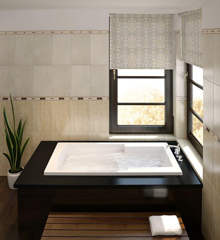 The Novare Model 6032 - 5' Acrylic Bathtub