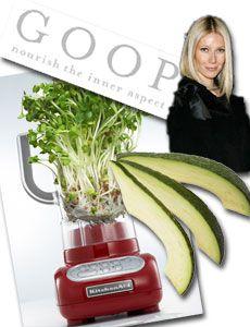 Gwyneth Paltrow Diet Detox - Trying t