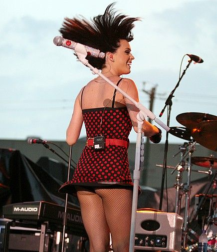 Wow fabulous. katy perry dress upskirt swallows lot