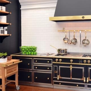 Fab French Kitchen With La Cornue Appliances Cabinetry